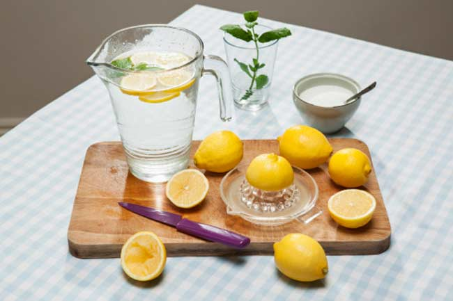 Lemon Juice Pack for Body Parts