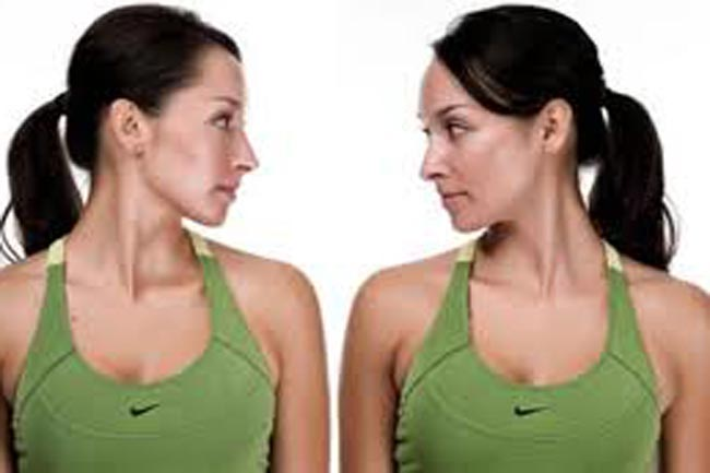 Neck Muscle Stretching