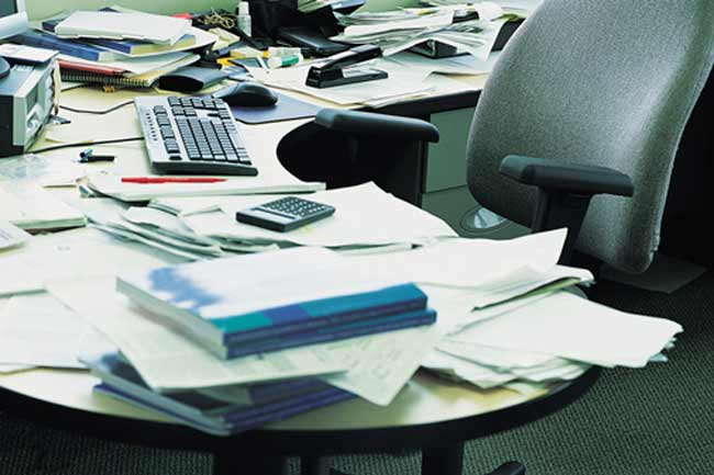 Disorganise Your Desk