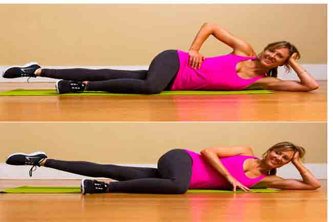 Inner-thigh Leg Lifts