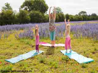 Pyramid Yoga Pose for <strong>Kids</strong>