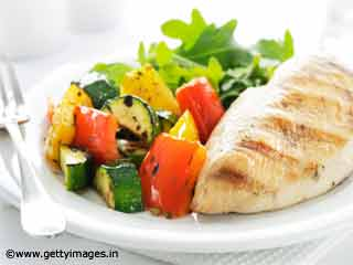 Recipe Mexican Grilled Chicken with Assorted Vegetables