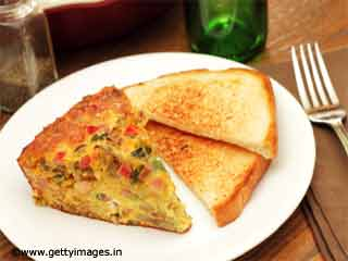<strong>Recipes</strong> - Egg Frittata