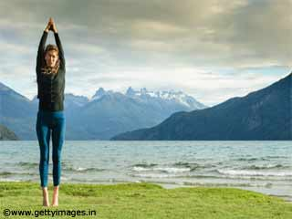 Tadasana or Mountain Pose Yoga