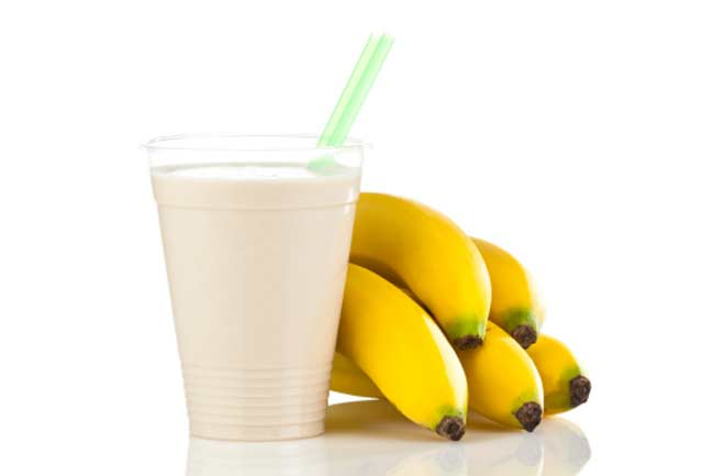 A Post-workout Banana Smoothie