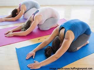 <strong>Yoga</strong> For Stress Relief - Hastotanasana