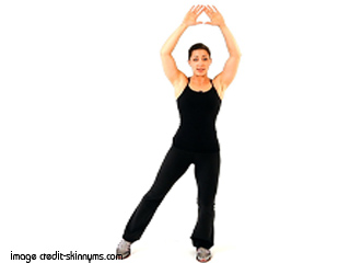 Yoga Jumping Jacks