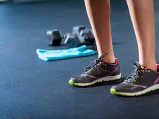 Take off your shoes for better workout results