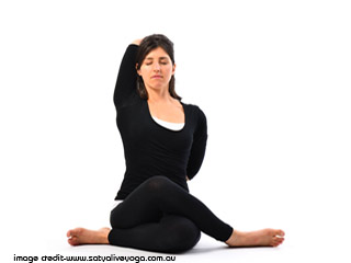 <strong>Yoga</strong> for Health - <strong>Gomukhasana</strong>