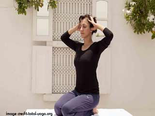 <strong>Yoga</strong> for Health - Sheetkari Asana