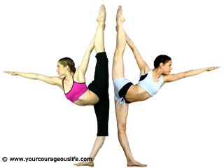 Pilates Standing Balance with Arabesque