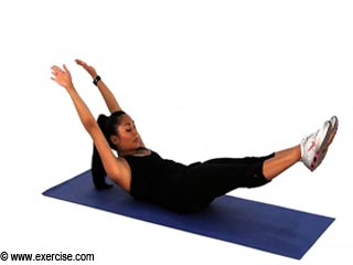 Arm Stretches - Pilates Exercise 4 for <strong>Beginners</strong>