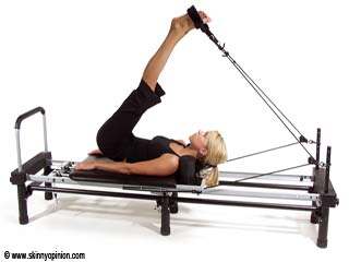 Crunches with Coordination - Pilates Reformer Exercises