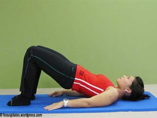 Hip Raise - Pilates Exercise 5 for <strong>Beginners</strong>