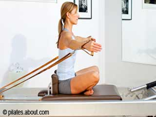 Hug a Tree - Pilates Reformer Exercises