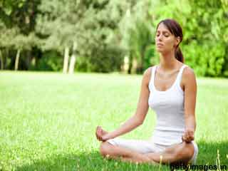Breathing Exercise Yoga for Stress Relief