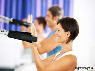 Chest Expansions - Pilates Reformer Exercises