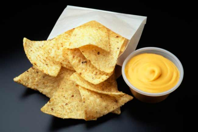 Chips and Cheesy Dip