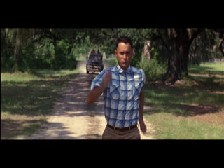 Run like Forrest Gump because it is more fun than gym