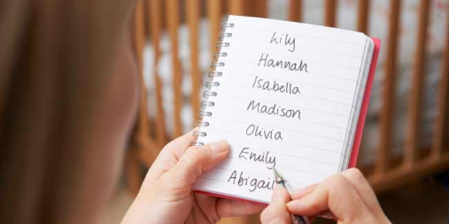 Various Ways of choosing Baby Names