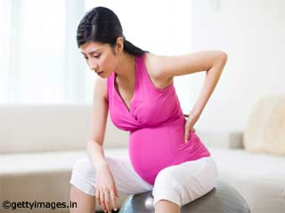 Back pain during <strong>pregnancy</strong>