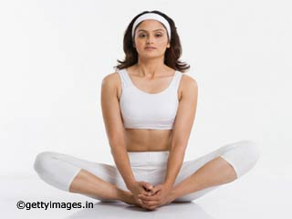 Baddha Konasana or Butterfly Pose <strong>Yoga</strong>