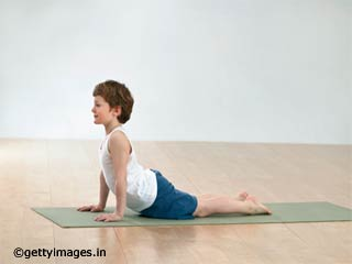 Bhujangasana Yoga Pose for Kids