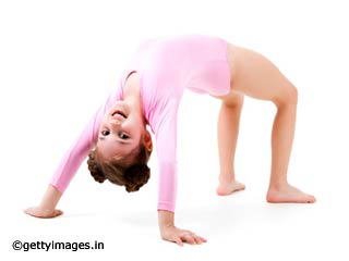 Bridge Pose Yoga for Kids