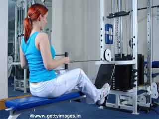<strong>Exercises</strong> For Women - Seated Row