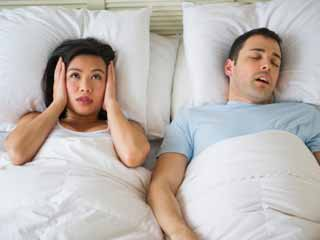 How to have a Sound Sleep Next to a Snorer