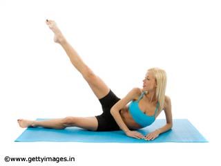Leg Lifts - Pilates Exercise 14 for <strong>Beginners</strong>