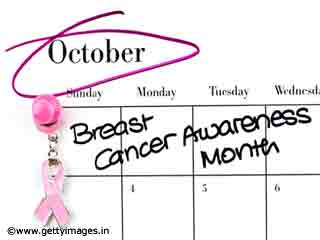 October 2010.. Breast Cancer awareness month