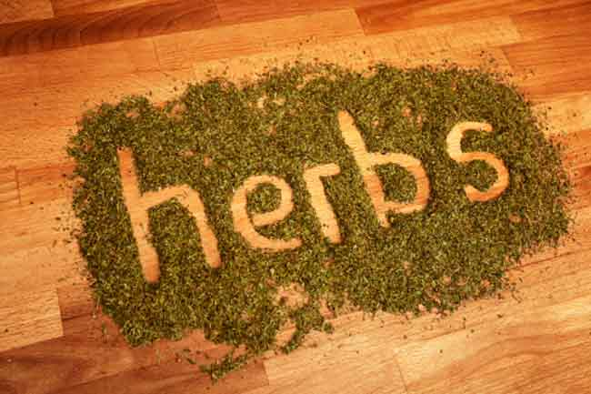 Cautious Usage with Herbs