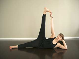 baddha konasana or butterfly pose yoga video  yoga