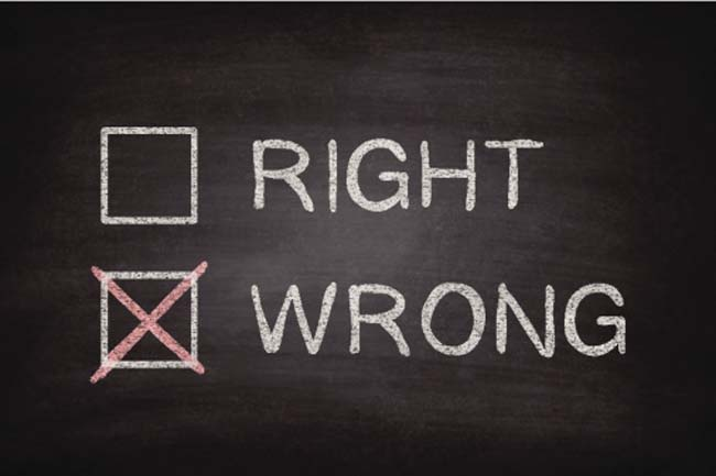 Helps Differentiate between Right and Wrong