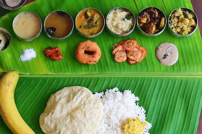 Eating the South Indian Style