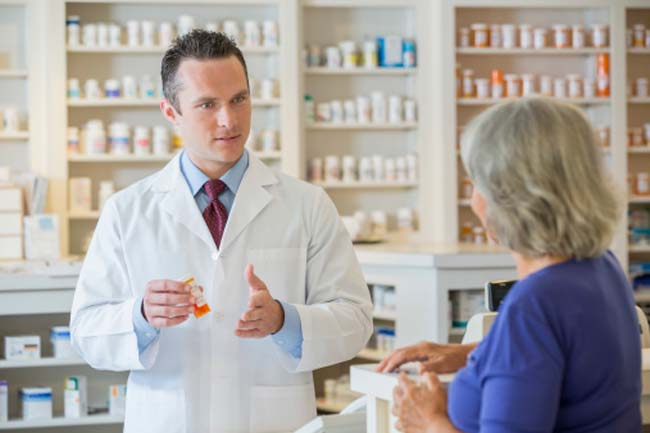 Discussing medical problems with the pharmacist can be of great help