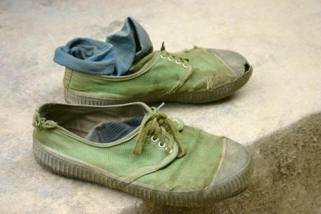 Worn-Out Shoes