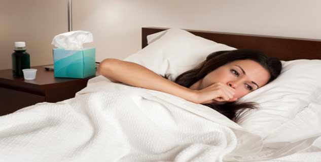 fever in flu in hindi