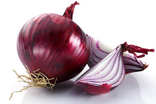 Onion for relieving root canal pain
