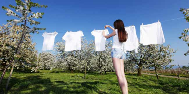 Quickies to keep your white clothes white