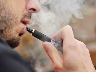 <strong>E</strong>-cigarettes may be a cause for cancer, study
