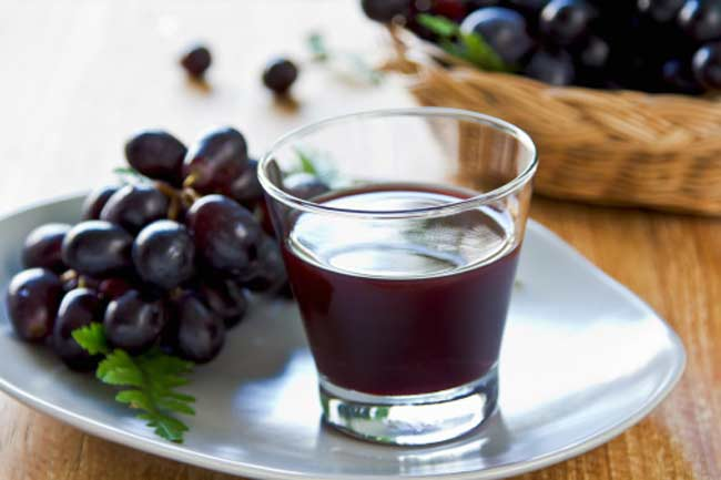 Grape Juice for Recalling Lists