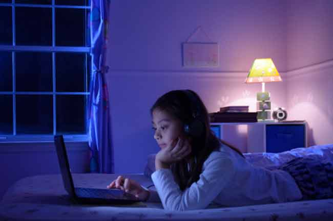 Using Devices at Night