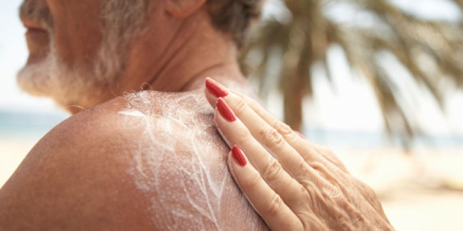 A Man's Need for Sunscreen couldn't get more Demanding