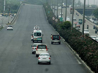 NCR Traffic Police Creates Green Corridor to Transfer Heart for Transplant