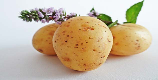 potatoes for warts