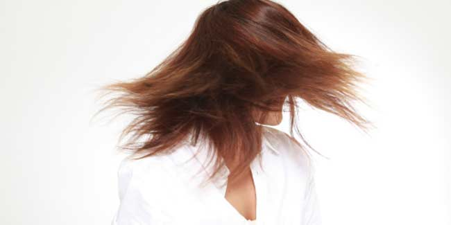 Home-made remedies for shiny hair
