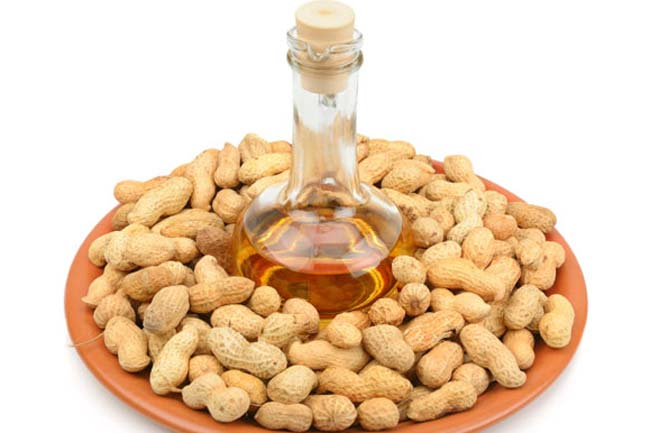 Go healthy with peanut oil