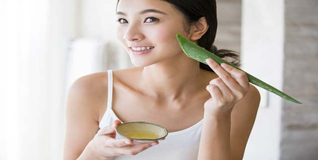 aloe vera for face